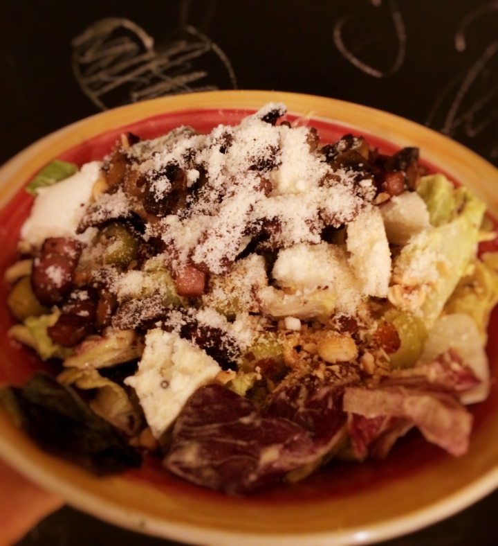 Obrok salata na djembin način
