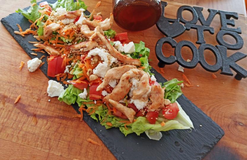 Obrok salata na djembin nacin